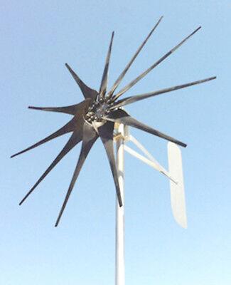 WIND TURBINE WIND GENERATOR 1150 WATT 11 blade LOW WIND 48 VDC 14 Pole (Wind Turbine Rotor)