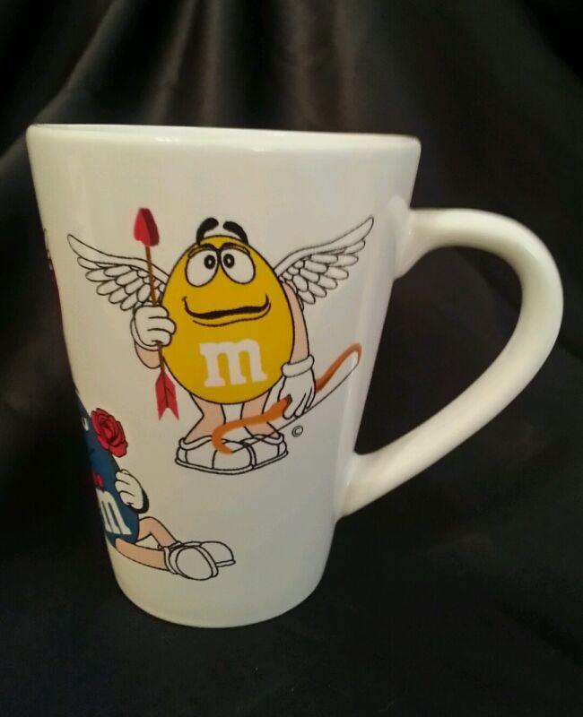 M & M's  Angel Mug Coffee Tea Angel Cupid Valentine