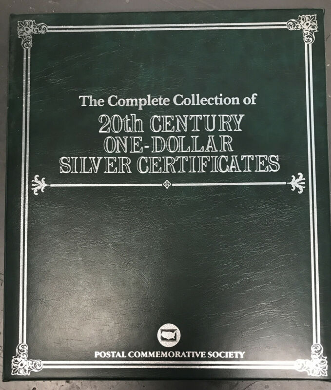 The Complete Collection of 20th Century One-Dollar Silver Certificates