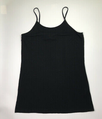 H&M Divided Women's Black Large Dress Spaghetti Strap Short