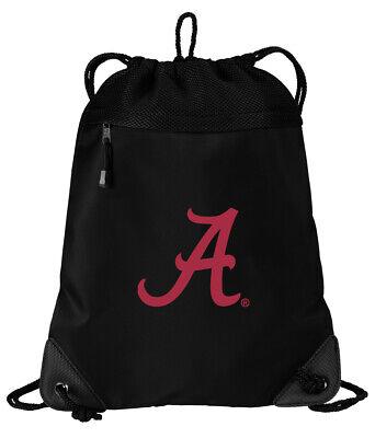 Alabama Drawstring Bag BEST UA BACKPACKS - COOL  MESH &