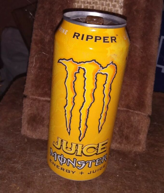 2015 Monster Energy RIPPER Juice Discontinued Flavor! Full, Sealed 16oz Can RARE