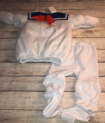 Toddler Stay Puft Marshmallow Man Costume (Ghostbuster Stay Puft Marshmallow Man Toddler 6/12 mos Costume)