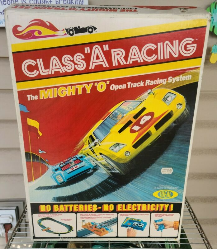 1971 Ideal Class A Racing The Mighty O Open Track Vintage Speed Control with Box