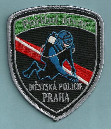 PRAHA (PRAGUE) CZECH REPUBLIC POLICE MESTSKA POLICIE DIVE TEAM SHOULDER PATCH