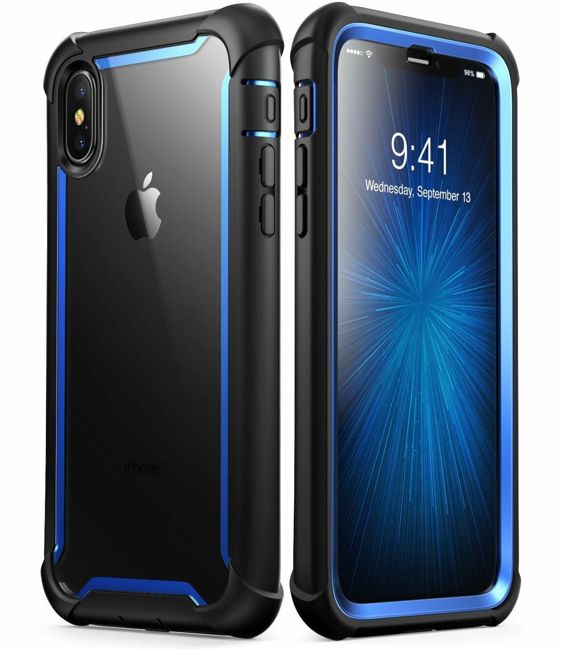 info for e3b89 0ff9b Details about iPhone X / XS Case i-Blason Ares Cover Built-in Screen  Protector For iPhone 10