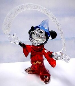 SORCERER MICKEY MOUSE LIMITED EDITION DISNEY CRYSTAL 2014 SWAROVSKI   #5004740