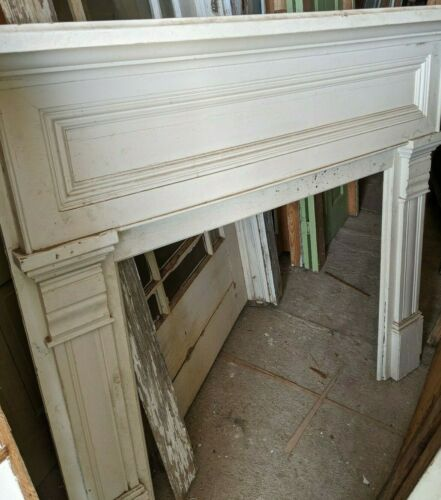 Vintage Reclaimed Fireplace Mantel from early 1900