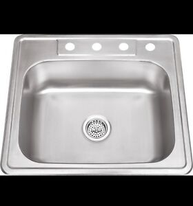 Looking for a single stainless steel sink