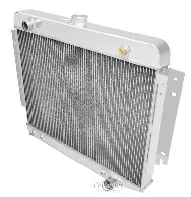 "Dodge D/W Series/Ram Vans Radiator Aluminum 3 Row Champion 26"" Core"