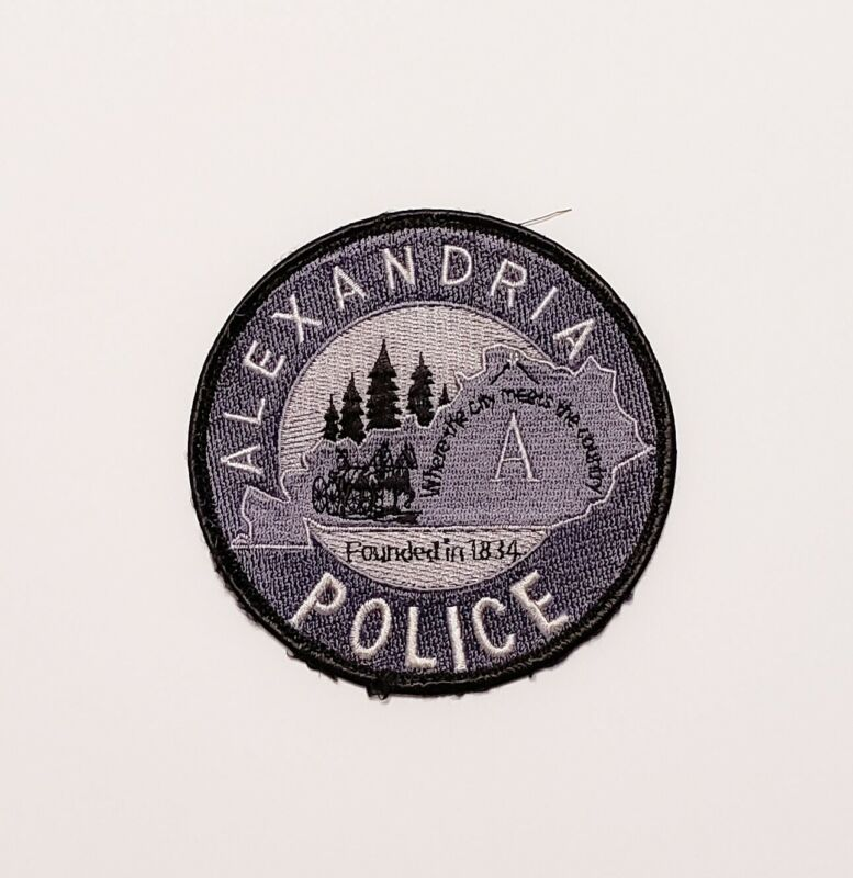 Alexandria Kentucky Police Patch Subdued
