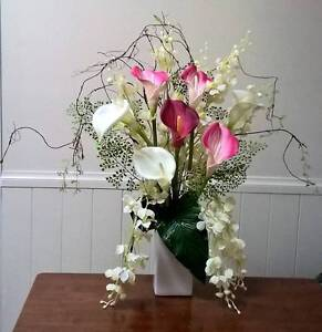 Quality Real Touch and Silk Arrangements and Single Stems Hurstville Hurstville Area Preview