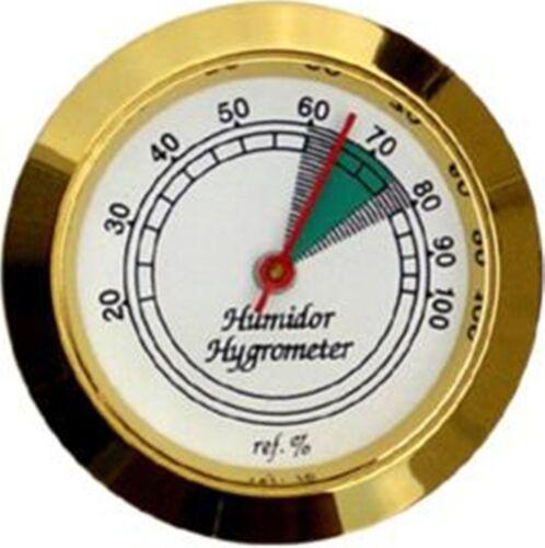 Hygrometer Analog / Goldin / Durchmesser 37 mm / Einbau-Ø 33 mm / OHNE Magnet