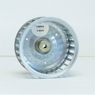 Fasco 1-6041 Squirrel Cage Blower Wheel 3-1316 X 1-78 X 14 Bore Cw 5000