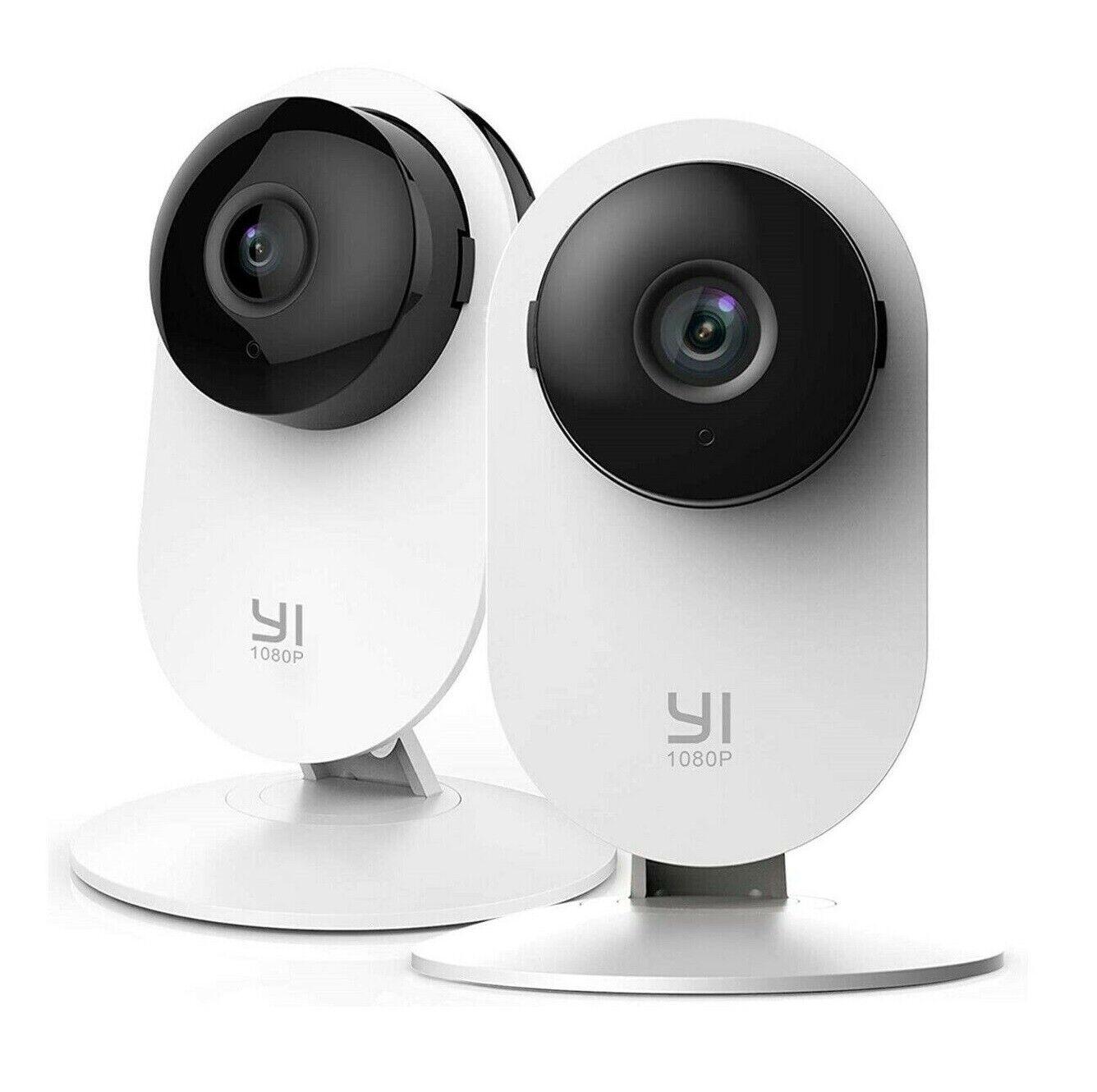 YI 2pc Home Camera 1080p Wireless IP Security Surveillance S