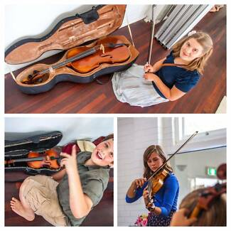 Violin lessons in Blackburn area.