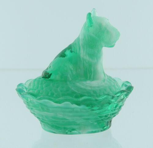 Boyd Glass Scottie Salt Key Lime