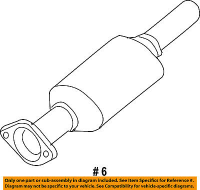 FORD OEM-Catalytic Converter 9L8Z5E212G