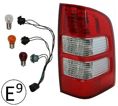 Rear Light for Ford Ranger 2006-09 Right pickup tail lamp RH O/S + Bulbs & Loom