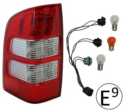 Rear Light for Ford Ranger Left pickup tail lamp LH N/S 2006-2009 + Bulbs & Loom