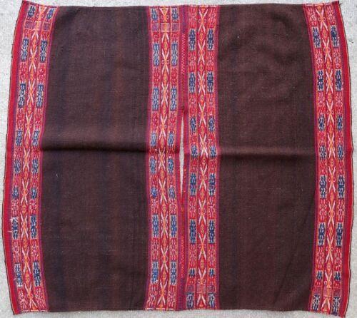Kilim textile weave antique American Peruvian 1900