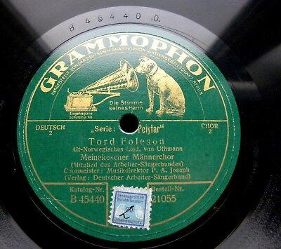 0236/ DEUTSCHER ARBEITER-SÄNGERBUND-Meinekescher Männerchor-Empor zum -Schellack