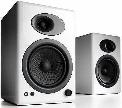 Audioengine A5+ Powered Speakers HI-GLOSS WHITE