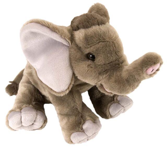 """NEW WILD REPUBLIC CUDDLEKINS 12"""" ELEPHANT BABY PLUSH CUDDLY SOFT TOY TEDDY 10904"""