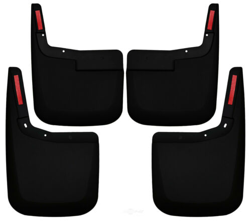 Husky Liners 58446 Black Front//Rear Mud Guards for Ford F-150