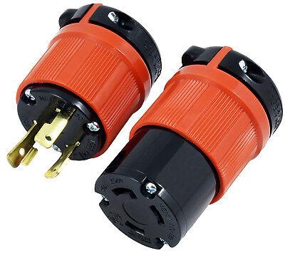 30 Amp Nema L6-30p Nema L6-30r Diy Plug And Connector Assembly By Ac Works