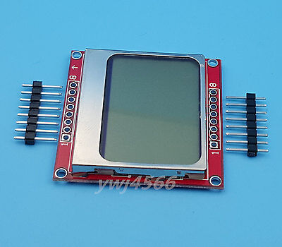 1pcs Nokia 5110 Lcd Display Module White Backlight With Adapter Pcb 8448