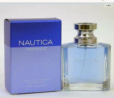 Nautica Voyage Eau de Toilette Spray 1.7 oz Men Fragrance NEW IN SEALED BOX