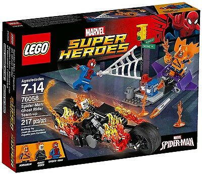 Marvel Super Heroes: Spider-Man: Ghost Rider #76058 - Building Set by LEGO