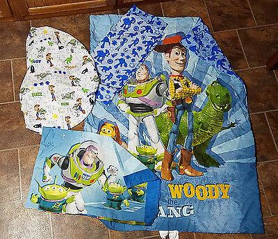 Disney Toy Story Toddler Bed 4-piece Comforter/Sheet Set
