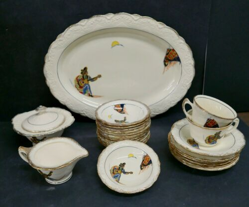 Vernon Kilns Vintage Dinnerware Set Bill Sterns Estate