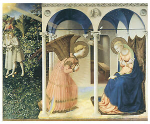 The-Annunciation-c-1430-45-Fra-Angelico-Guido-Di-Pietro-Art-on-Canvas