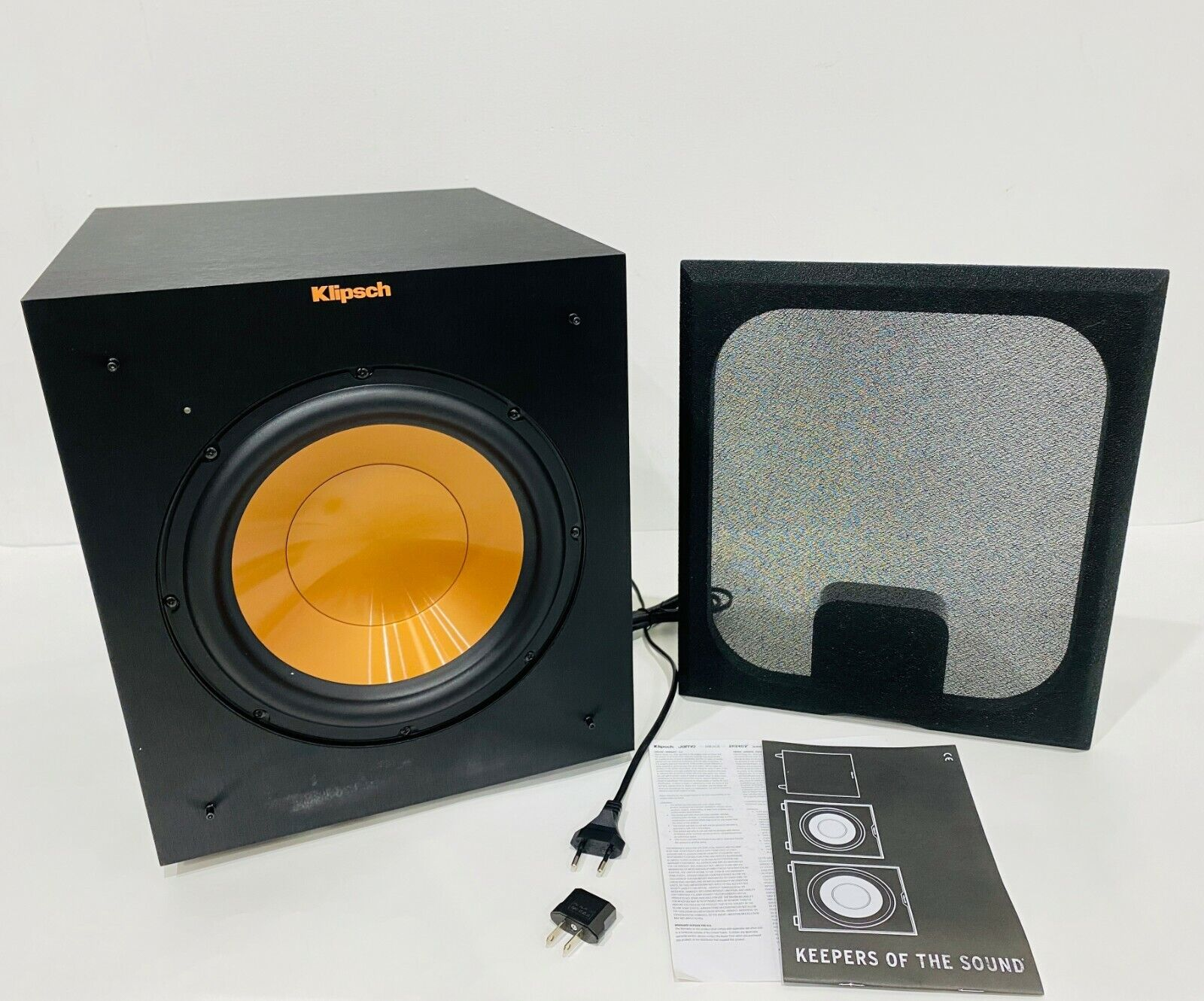 """Klipsch Reference R-10SW 10"""" 300w Powered Subwoofer  - New I"""