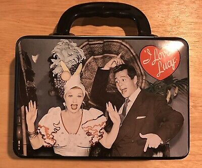 I Love Lucy Mini Lunchbox Tin. Excellent Pre-owned. I Love Lucy Mini Tin