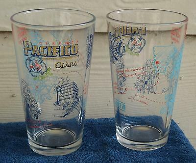 2 Pacifico Clara Beer New 16 oz. Pint Glasses ... Take a tour of Austin, Texas, used for sale  Austin