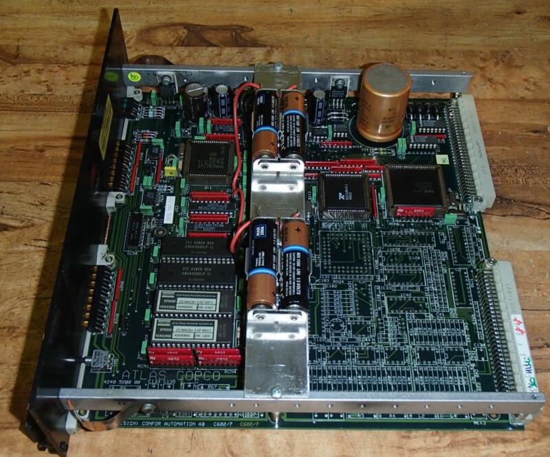 Atlas Copco J 4240 5008 01 Circuit Board Macs Master Controller  4240500801