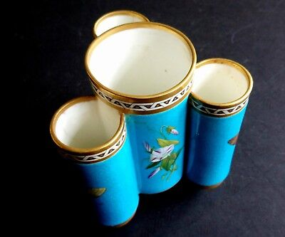 CHRISTOPHER DRESSER Minton Porcelain Butterfly Spill Vase Aesthetic Movement