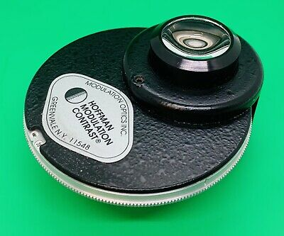 Hoffman Modulation Contrast Microscope Condenser Nikon Optiphot Labophot