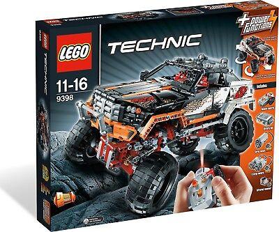 Außerhalb Spielzeug (Lego TECHNIK 9398 - pickup 4X4 Neu seltene außerhalb Produktion)