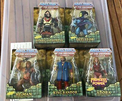 MOTU Classics 6 figures: Megator, He-Man, King Randor, Skeletor, Adora, Hordak++ online kaufen