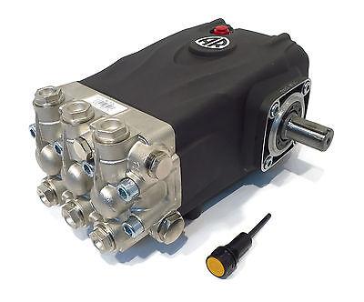 Pressure Washer Pump Replaces Interpump Ws101 - 4000 Psi 3.96 Gpm Solid Shaft