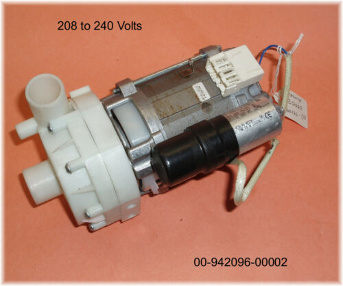 New HOBART RINSE PUMP, 208-240V. 00-942096-00002 *LOOK*