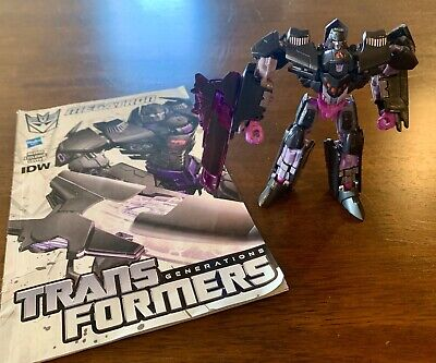 Transformers Generations IDW 30th Anniversary MEGATRON Bomber Deluxe Complete