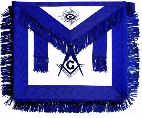 Masonic Regalia Master Mason BLUE APRON EMBROIDERED DMA-100BL