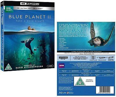 The Blue Planet Ii  2017  David Attenborough New Tv Series   Uhd 4K   Blu Ray Uk