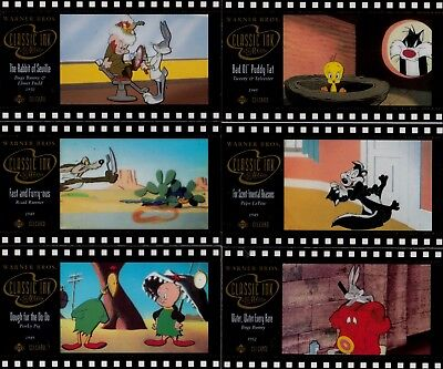 ALL TIME TOONS LOONEY TUNES ANTHOLOGY 1996 CLASSIC INK CEL CARD SET CI01 - CI15